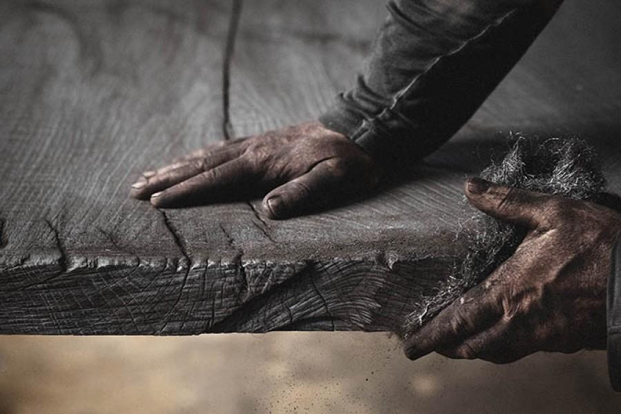 Massivholztische von Stefan Knopp